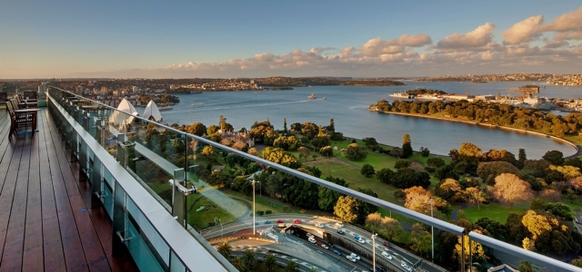 InterContinental Sydney ~ HSIA fluide