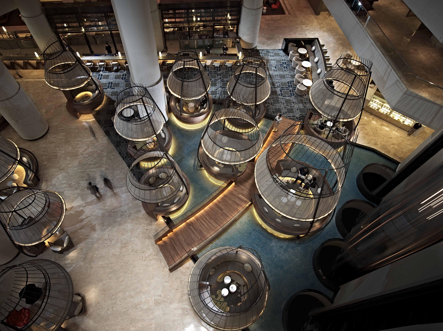 PPS Lobby and Atrium Bar Lounge