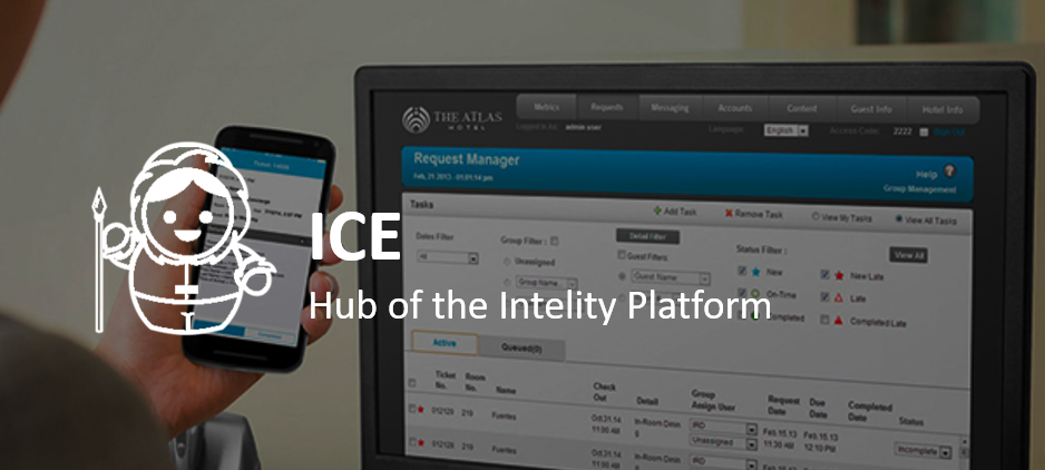 ICE Banner on Website