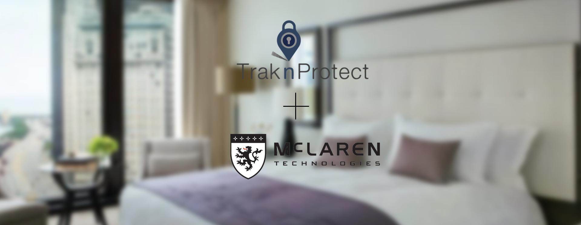McLaren and TraknProtect